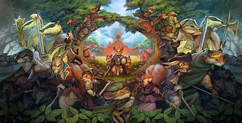 Redwall Is Finally Getting a Video Game, but You Probably