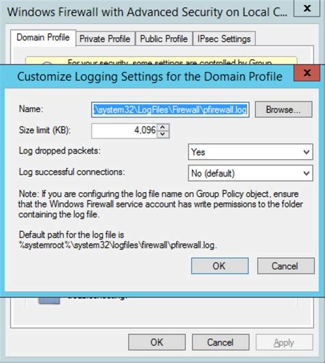 Checking Windows Firewall for blocked ports | 9to5IT