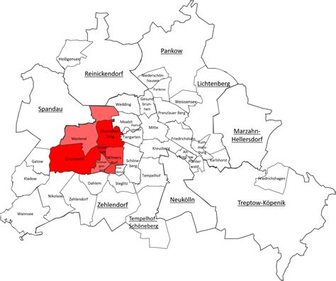 The most popular districts of Berlin to explore