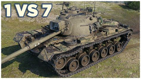 M48A5 Patton • 1 vs 7 • Three Marks of Excellence • WoT