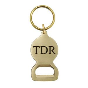Personalized Solid Brass Key Tag Bottle Opener KTBO301 IMC