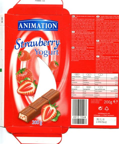 Chocolate wrapper #3618: Germany, Lidl 2009