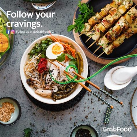 Grab launches GrabFood delivery service in Singapore, aims