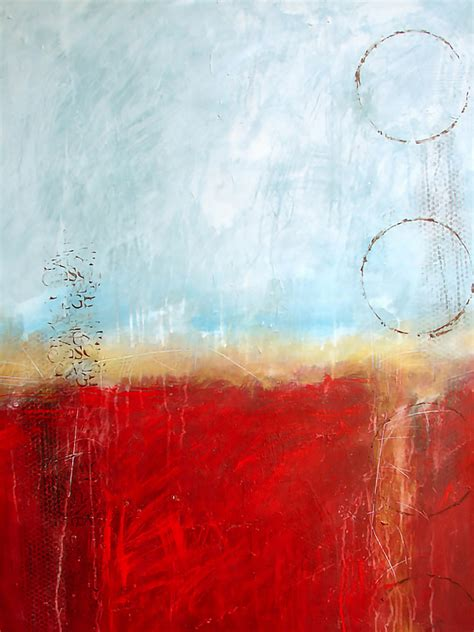 Filomena Booth: Glowing Abstract Paintings - EmptyEasel
