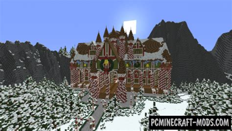Christmas Catastrophe 2 Map For Minecraft 1