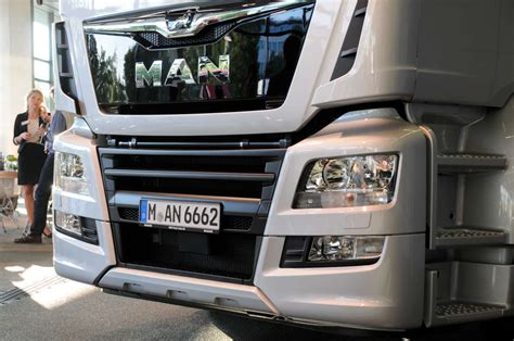 MAN: Small facelift, more power and Swedish gearboxes