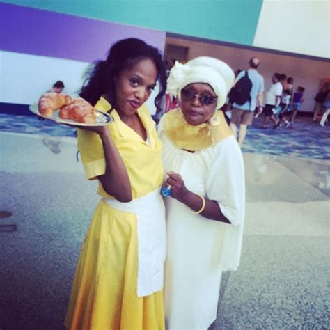 Tiana and Mama Odie From The Princess and the Frog