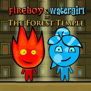 Fireboy and Watergirl: The Forrest Temple - Online-Spiel