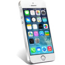 iPhone-5S-white icon 256x256px (ico, png, icns) - free