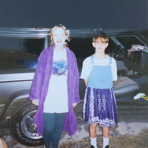 Lol can't believe I dressed as a girl for Halloween once