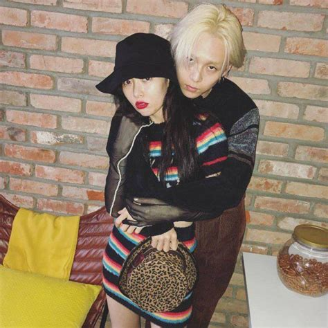 HyunA & E'Dawn Embracing And Loving Each Other On