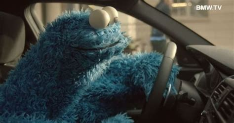 [VIDEO] Cookie Monster Drives BMW 1 Series, Demands Baked