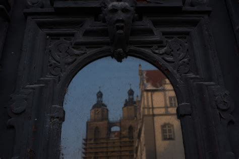Touring the Old Latin School in Wittenberg, Germany