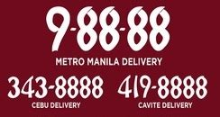 Delivery Hotline Numbers of Fast Foods in Metro Manila