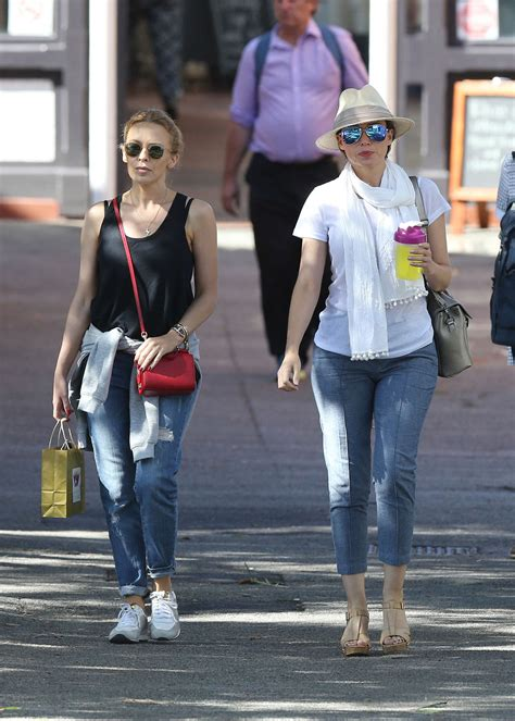 Kylie and Dannii Minogue in Jeans -30 - GotCeleb